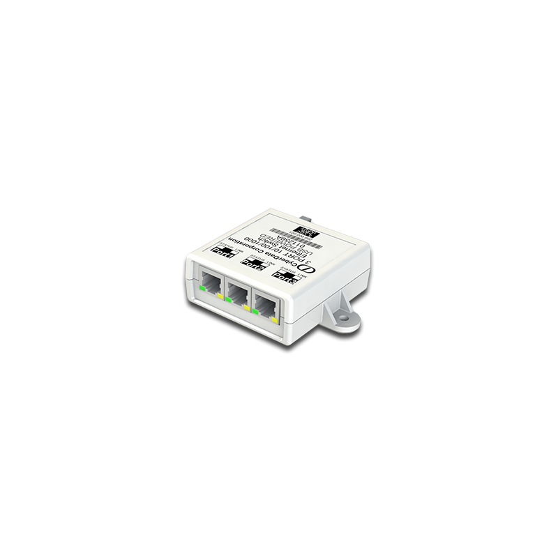 3 Port PoE Gigabit Port Mirroring Switch