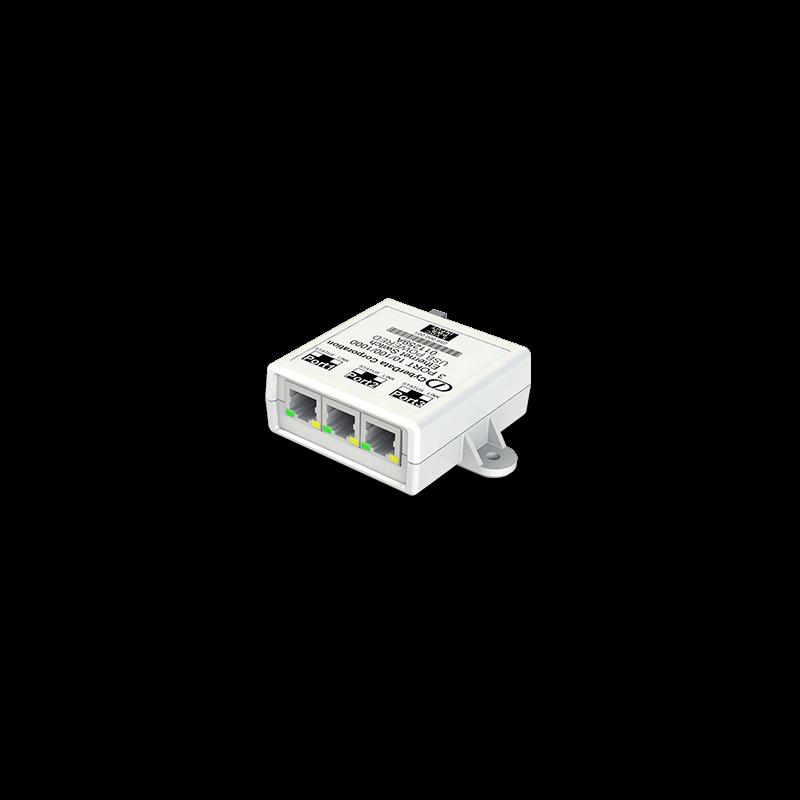 3 Port PoE Gigabit Port Mirroring Switch