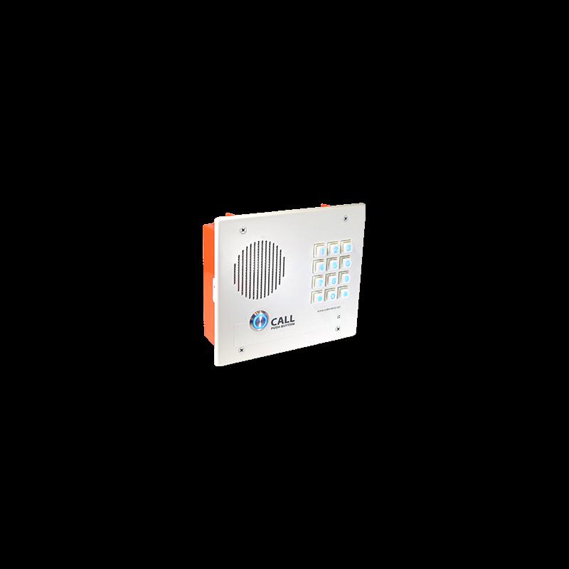 Singlewire InformaCast Indoor Intercom w/Keypad - Flush Mount