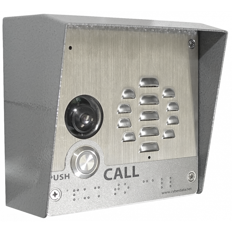 SIP-enabled Outdoor H.264 Video Intercom
