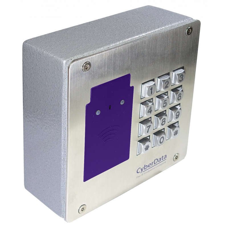 SIP RFID Keypad Access Control Endpoint