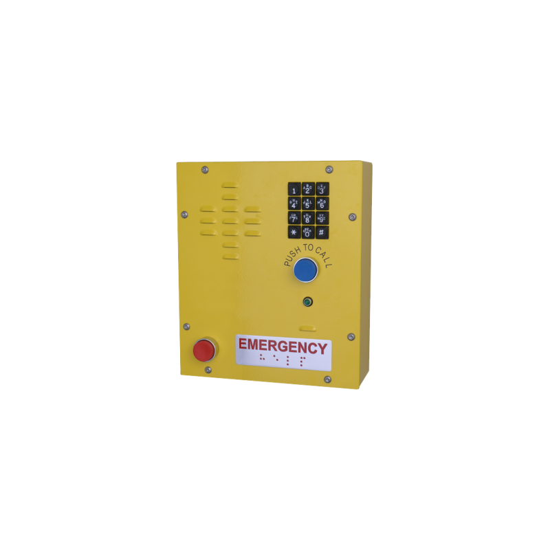 SIP Heavy Duty Emergency Keypad Call Station